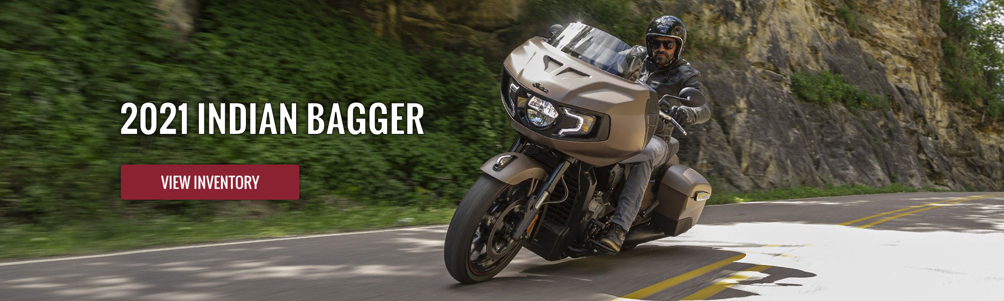2021 Models - Indian Motorcycle, White Plains 2021 - Bagger